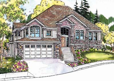 Traditional Style Floor Plans Plan: 17-658