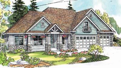 Craftsman Style Floor Plans Plan: 17-663
