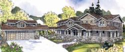 Craftsman Style Floor Plans Plan: 17-664