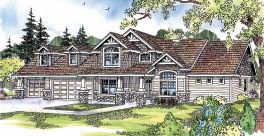 Contemporary Style House Plans Plan: 17-665