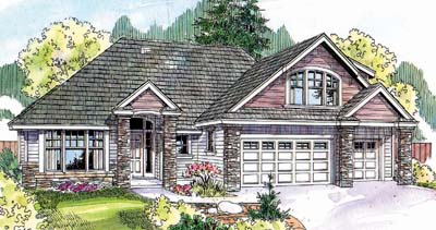 Traditional Style Floor Plans Plan: 17-668