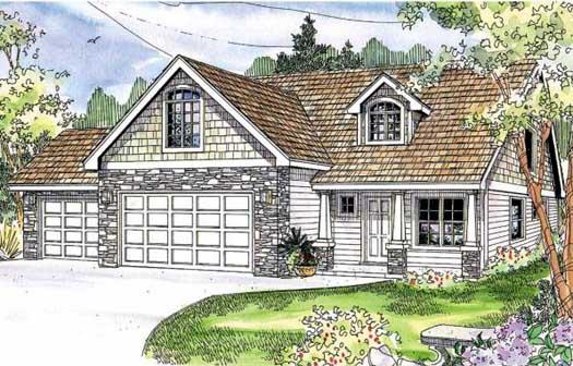 Craftsman Style House Plans Plan: 17-670