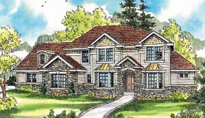 Traditional Style Floor Plans Plan: 17-672