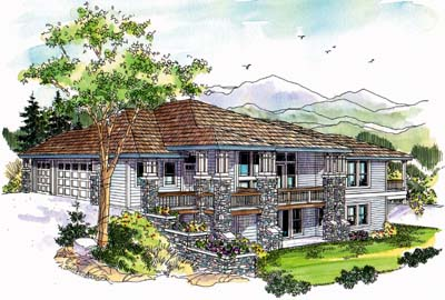 Traditional Style House Plans Plan: 17-674