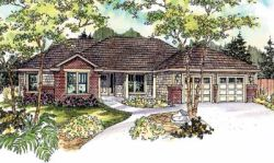 Ranch Style Floor Plans Plan: 17-676