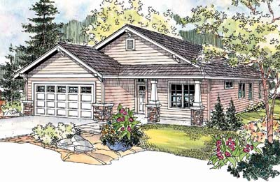 Craftsman Style House Plans Plan: 17-677