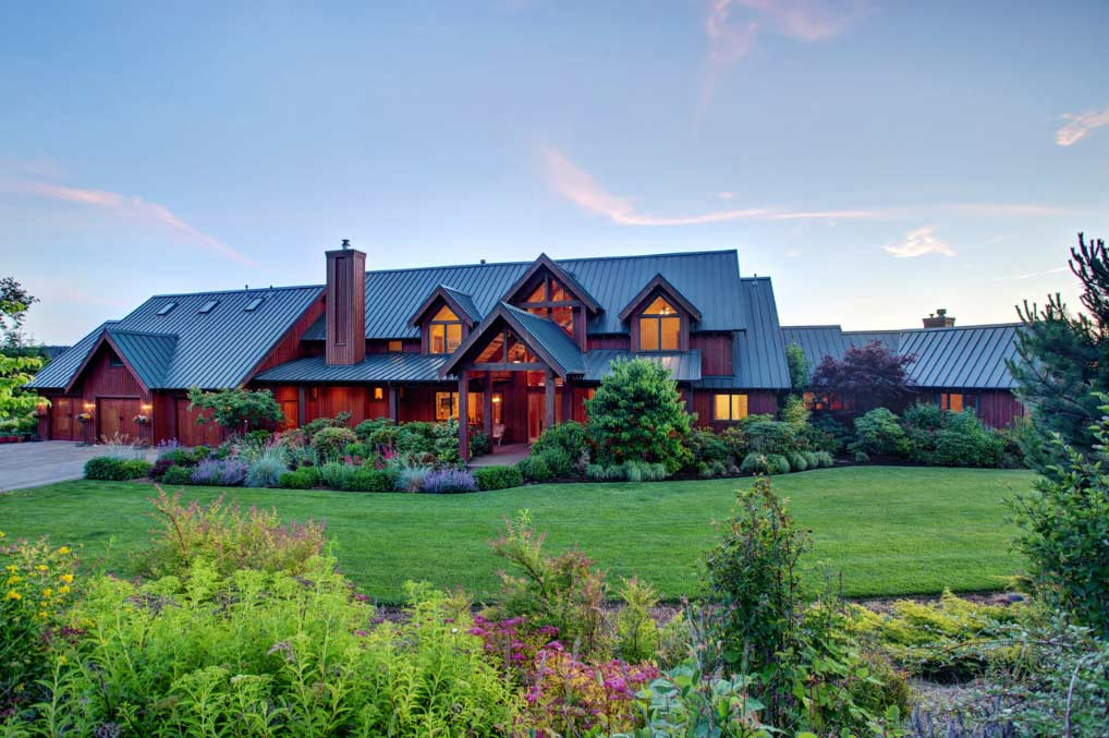 Mountain-or-rustic Style Home Design Plan: 17-678