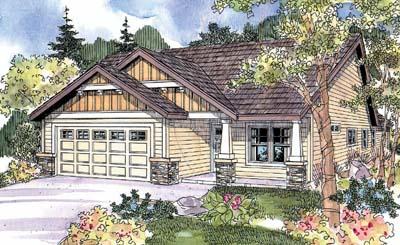 Craftsman Style Floor Plans Plan: 17-680