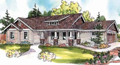 Craftsman Style House Plans Plan: 17-682