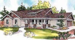 Craftsman Style Floor Plans Plan: 17-682
