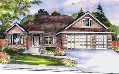 Traditional Style Floor Plans Plan: 17-686