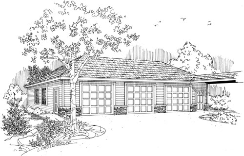 Traditional Style House Plans Plan: 17-703