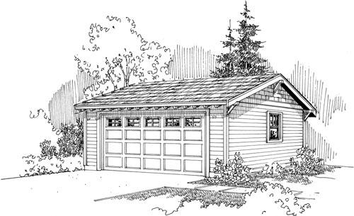 Craftsman Style Home Design Plan: 17-704