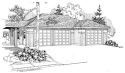 Traditional Style Floor Plans Plan: 17-705
