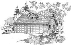 Craftsman Style Home Design Plan: 17-711