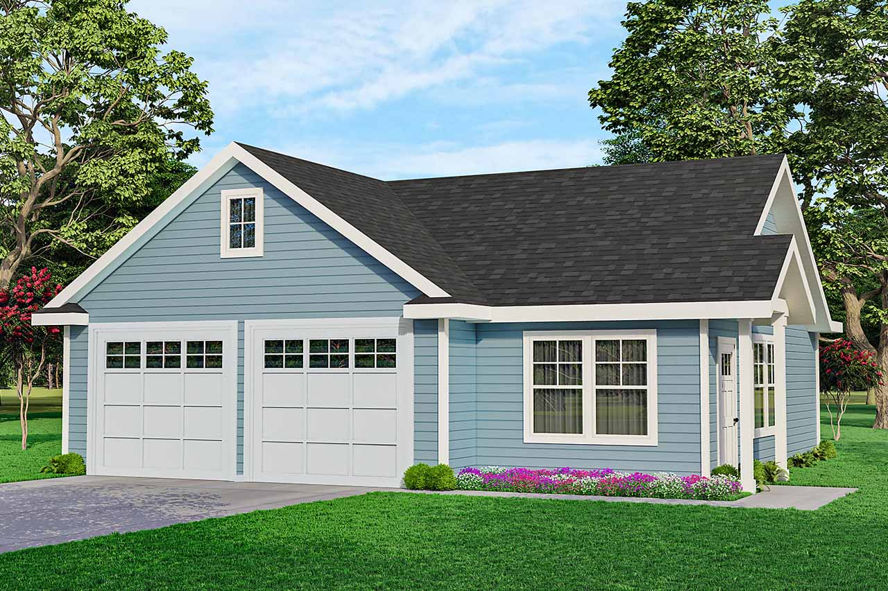 Traditional Style Home Design Plan: 17-747