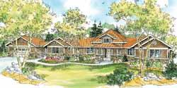 Craftsman Style House Plans Plan: 17-763