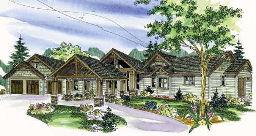 Northwest Style House Plans Plan: 17-812