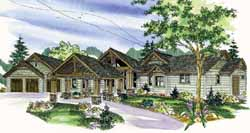 Northwest Style House Plans Plan: 17-812