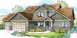 Craftsman Style House Plans Plan: 17-823