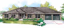 Traditional Style House Plans Plan: 17-844