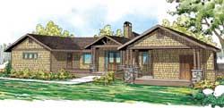 Craftsman Style House Plans Plan: 17-859