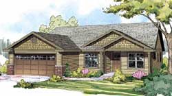 Craftsman Style House Plans Plan: 17-865