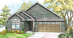 Craftsman Style Floor Plans Plan: 17-876