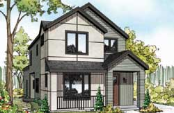 Modern Style Floor Plans Plan: 17-935