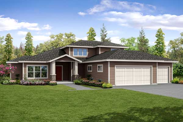 Craftsman Style House Plans Plan: 17-948