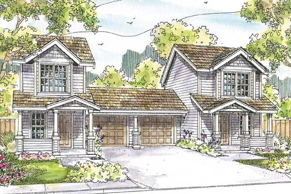 Craftsman Style House Plans Plan: 17-958