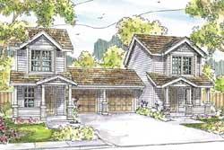 Craftsman Style Home Design Plan: 17-958