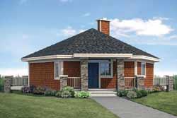 Cottage Style Floor Plans Plan: 17-987