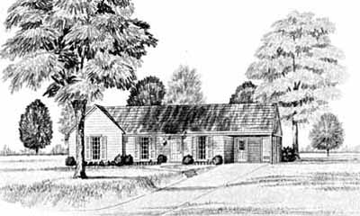 Traditional Style Floor Plans Plan: 18-105
