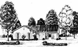 Traditional Style Home Design Plan: 18-106