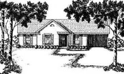 Traditional Style House Plans Plan: 18-107