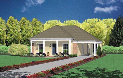 Southern Style Floor Plans Plan: 18-108