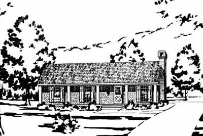 Ranch Style House Plans Plan: 18-109