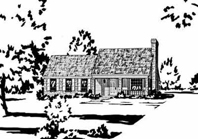 Southern Style Floor Plans Plan: 18-110