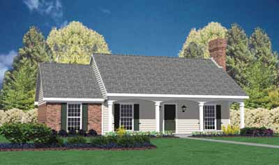 Southern Style House Plans Plan: 18-111