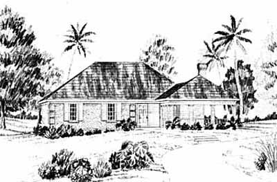 Traditional Style Home Design Plan: 18-112