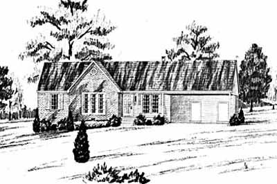 Traditional Style Floor Plans Plan: 18-114