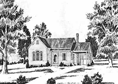 Traditional Style Home Design Plan: 18-116