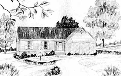 Traditional Style House Plans Plan: 18-123