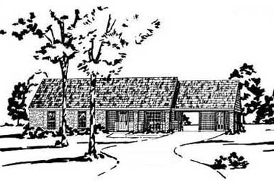Traditional Style House Plans Plan: 18-124