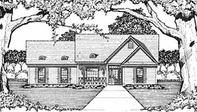Traditional Style House Plans Plan: 18-128