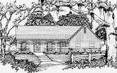 Ranch Style House Plans Plan: 18-129