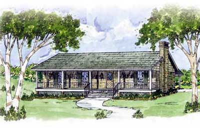 Country Style House Plans Plan: 18-133