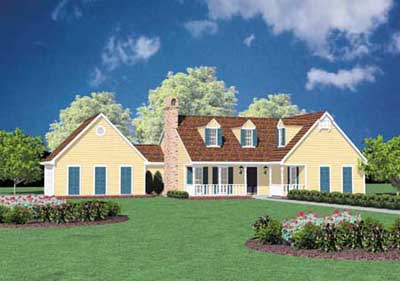 Country Style House Plans Plan: 18-141