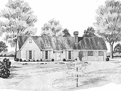 Traditional Style House Plans Plan: 18-142